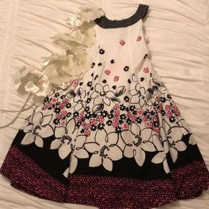 BONNIE JEAN FLORAL GIRL DRESS